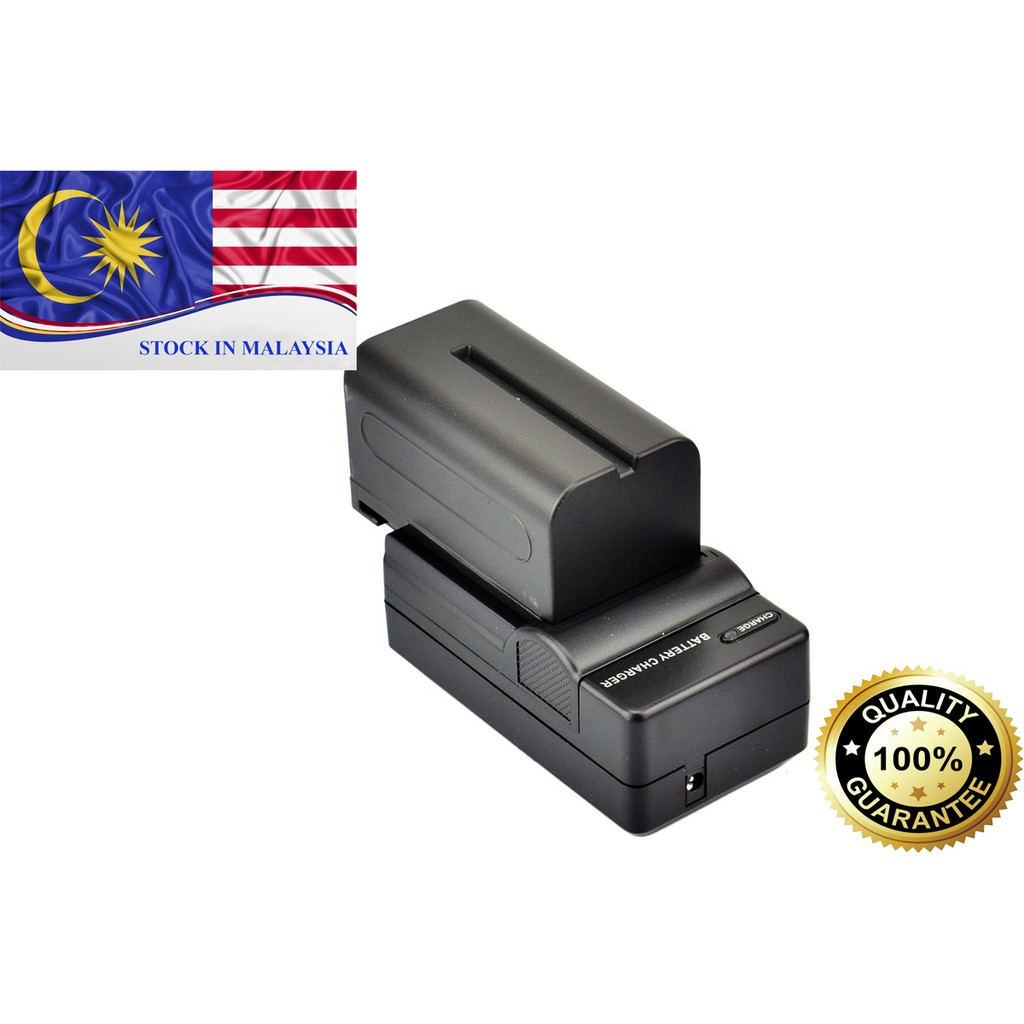 DSTE NP-F770 NP-F750 NP-F730 Rechargeable Battery And Charger for Sony (Ready Stock In Malaysia)