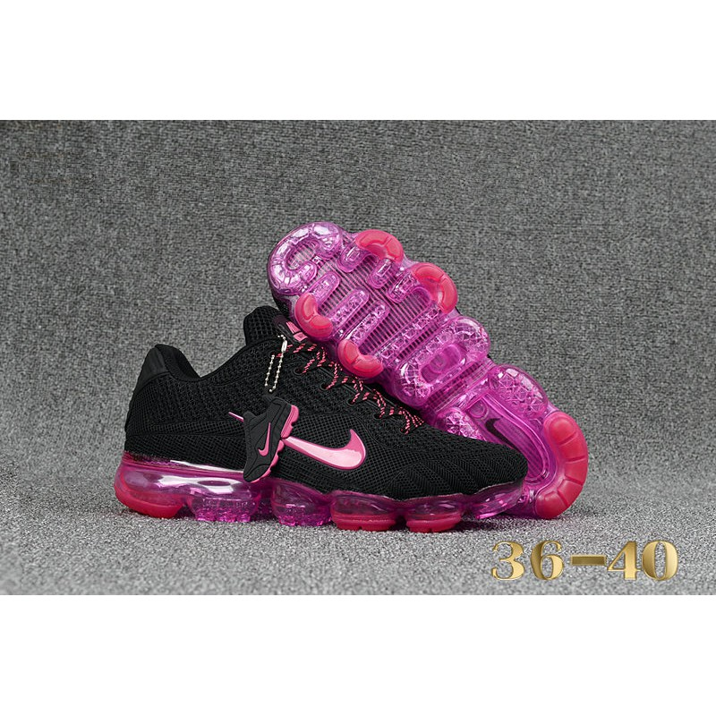 separation shoes 8b271 edaf0 Nike AirMax 2018 Womens Black Red Pink Purple