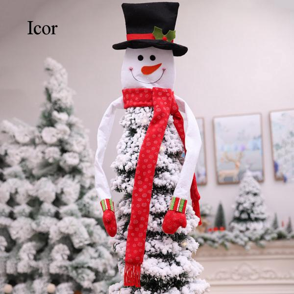 Christmas Tree Topper Snowman Top Hugger Christmas tree pendant for Home Party