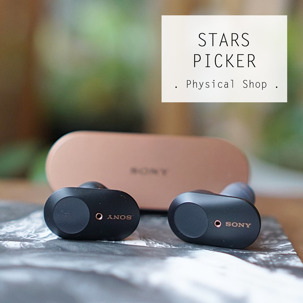 (PM Best Price) Sony WF-1000XM3 | Premium True Wireless Earphones with  Industry Leading Noise Cancellation