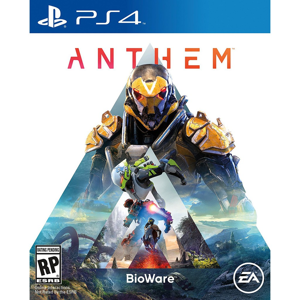 PS4 ANTHEM R3 ENG/CHINESE (NEW)