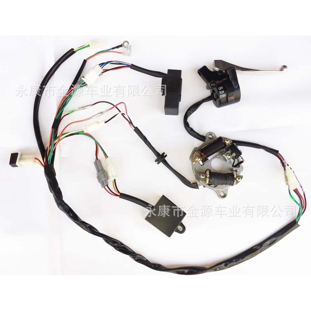 Wire Harness Assy 5xk Yamaha Y125zr Shopee Malaysia B17 Wiring