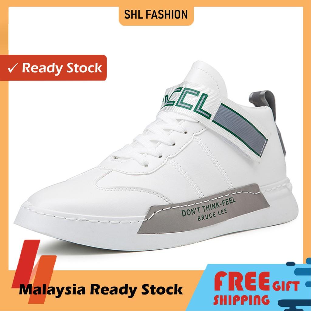 READY STOCK SHL Men Lelaki Sport Shoes Kasut Walking Running Guys Travel Lawa Gift ks09207