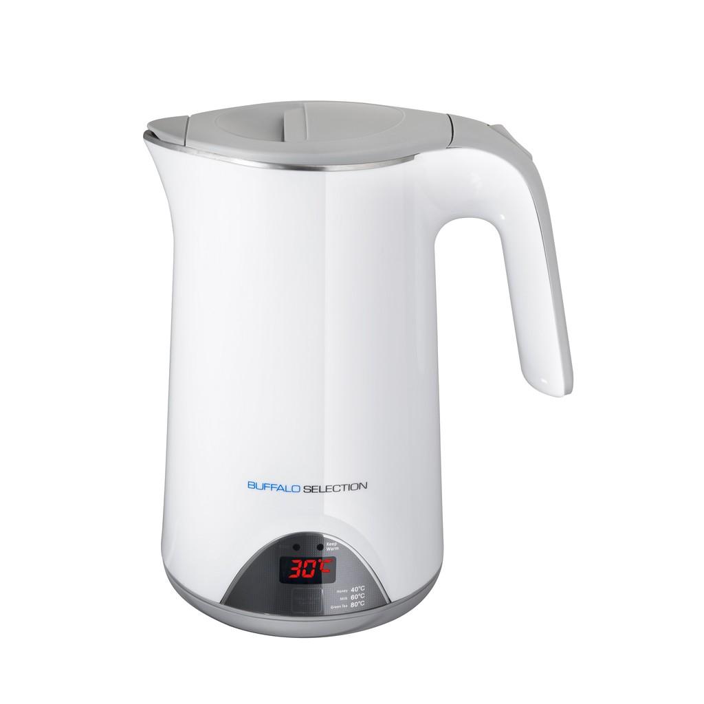 1.7L Electric Kettle(White) Temperature Adjustable