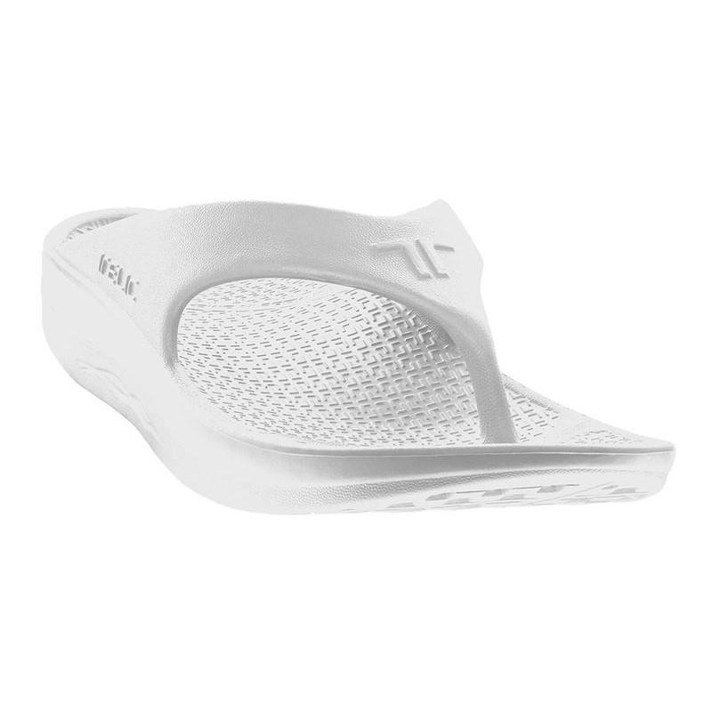 879012c6f4c18d TELIC T200-01 black Slide Sports Recovery Sandal Arch Support Men Unisex