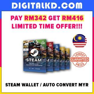 Steam Wallet SGD Digital Code | Shopee Malaysia