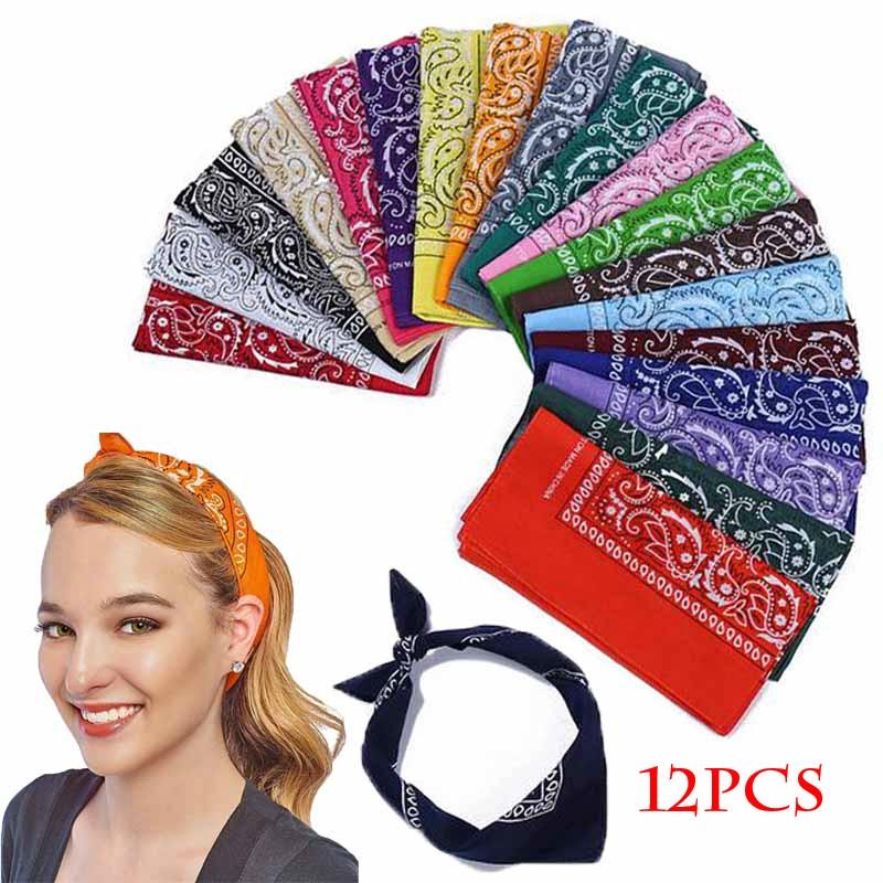 Women Men Hip Pop Head Wrap Headband Multifunctional Head Cover Headwear