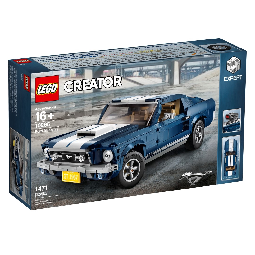 Mustang Expert Creator 10265 Lego Ford OnPk0w