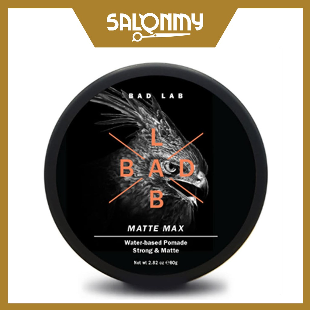 Bad Lab Water-based Pomade, Strong & Matte