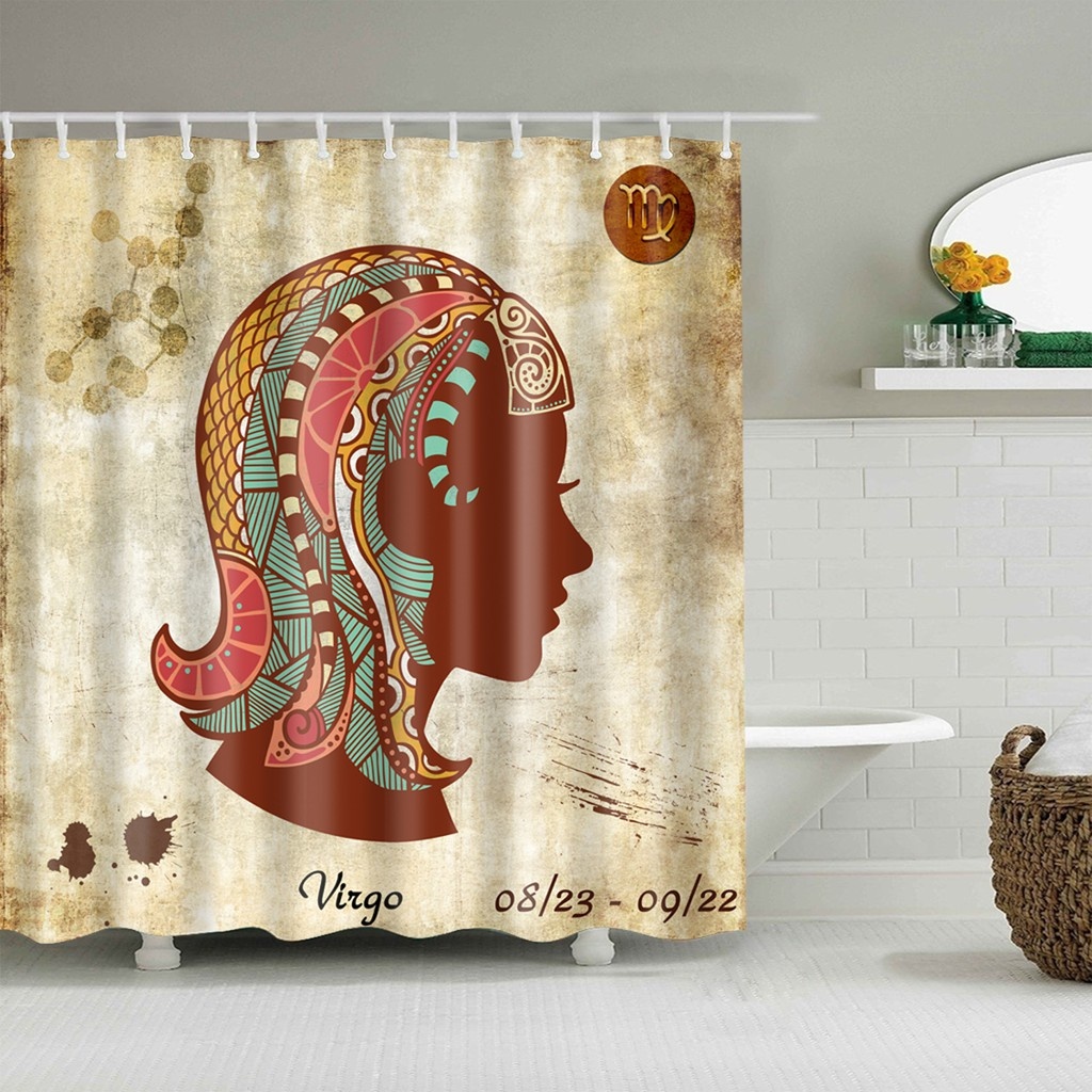 Ghost Skull Propose Shower Curtain Liner Polyester Fabric