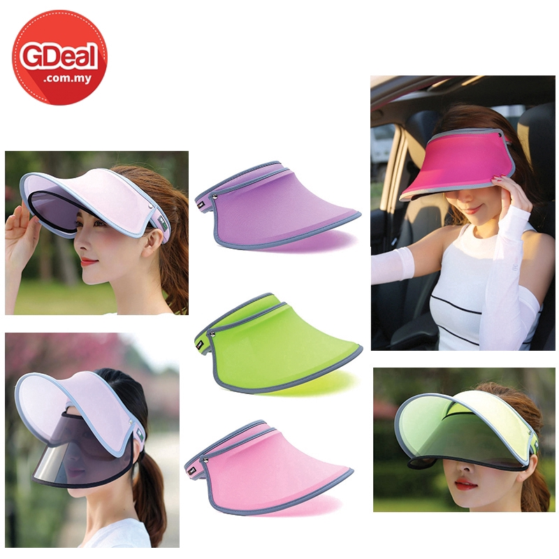 GDeal Fashion Casual Double Layer Sunscreen UV Protection Cap For Outdoors Activities Suitable Woman And Man
