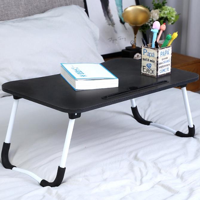 Foldable Table Bed Desk Laptop Table Notebook Table Meja Lipat Portable Computer Desk Small Table Laptop Desk Study Tabl