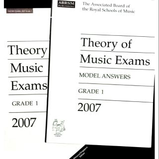 ABRSM Theory of Music 2006 Exam Papers + ANSWERS Grade 4 | Shopee