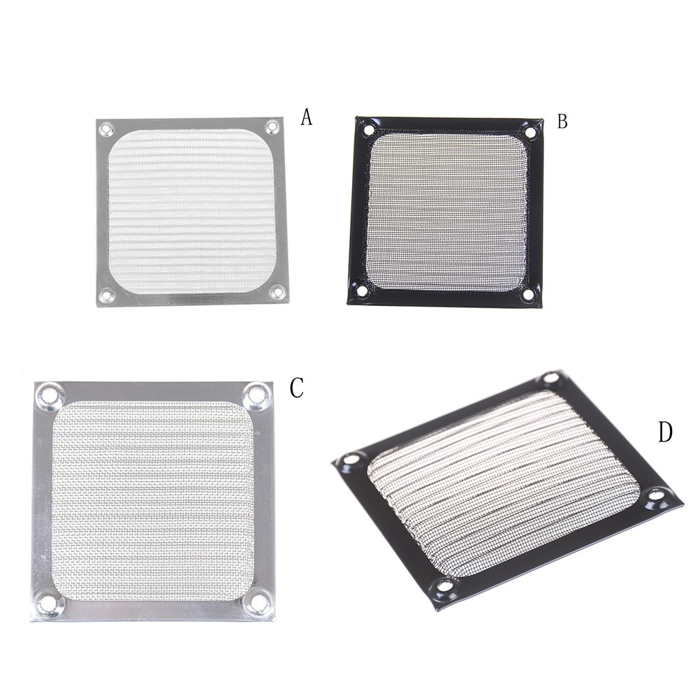 Metal Dustproof Mesh Dust Filter Net Guard 12//9//8cm For Computer Case Cooler Fan