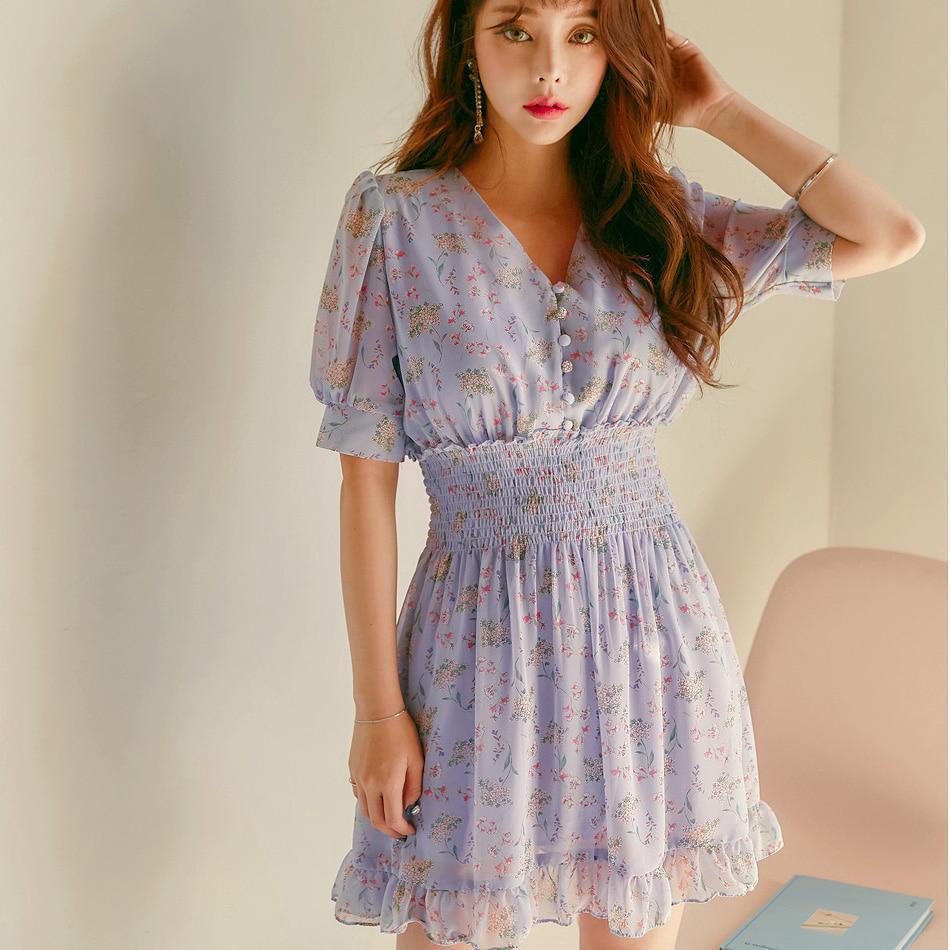 0d2a10f364d35 2019 Plus Size Boho Beach Midi Dresses Summer New Floral Print ...