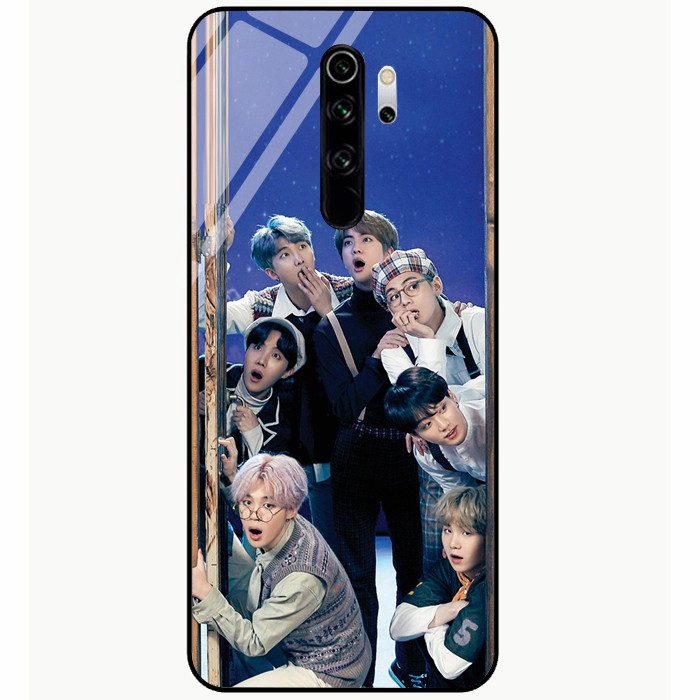 For Redmi Note 8 Redmi Note 8 Pro Kpop Bts Bangtan Boys Series Tempered Glass Hard Phone Cover Case Casing Diy Gift Shopee Malaysia