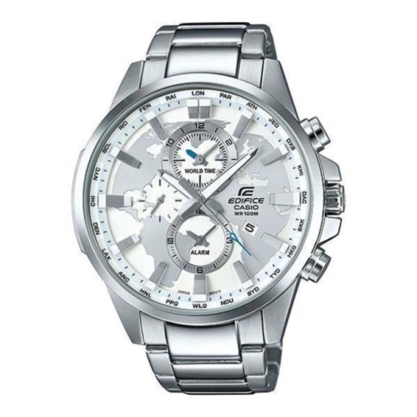 847b9dcacca6 Casio Edifice Silver White 5345 Watch For Men
