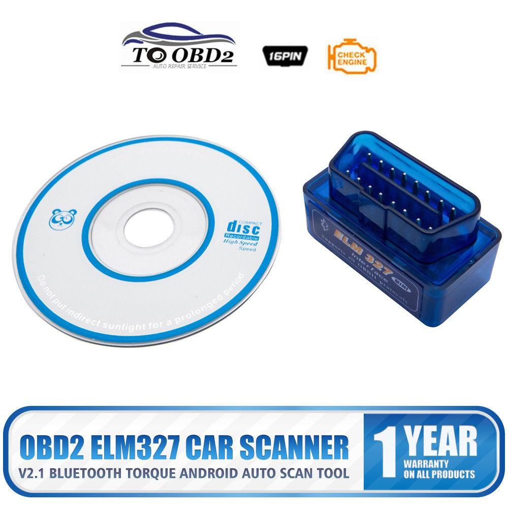 Torque ELM 327 Bluetooth V2 1 OBD2 OBDII Car Diagnostic Auto Scanner Code  Reader