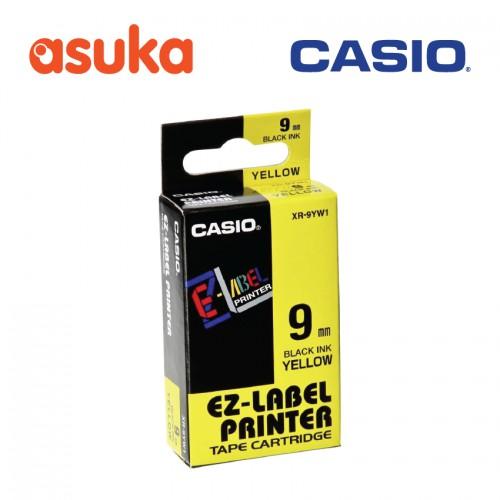 CASIO XR-6WE1 EZ-Label Printer Tape Cartridge 6mm White   Shopee Malaysia