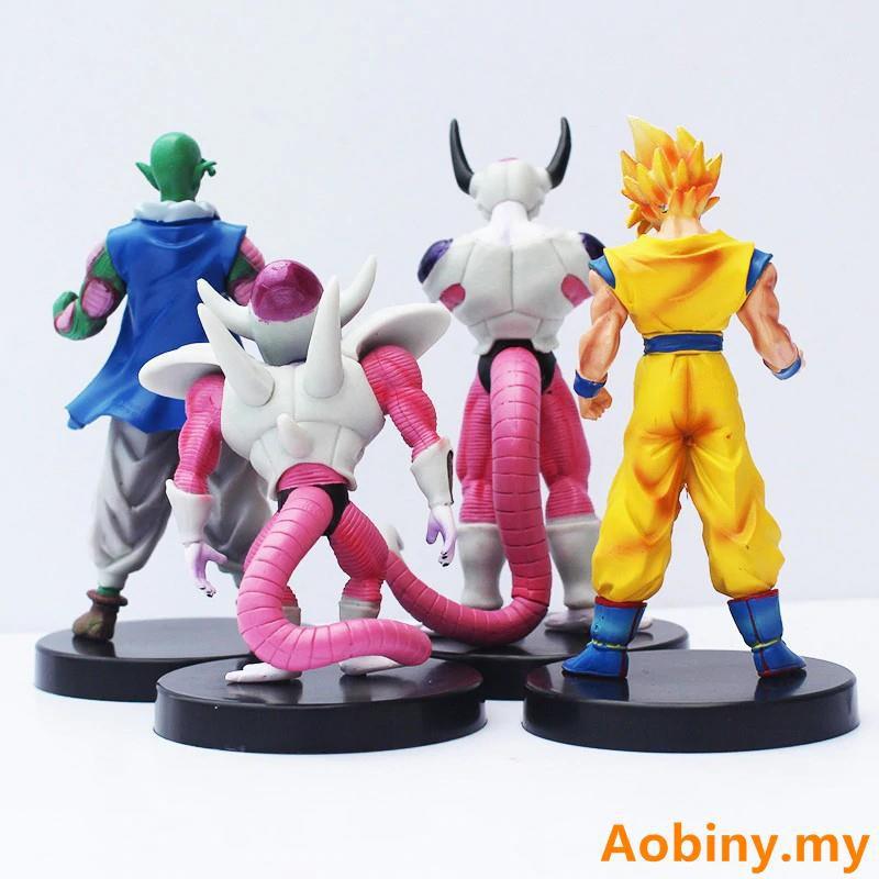 DBZ Dragon Ball Z Tenkaichi 7 Son Goku Gokou Black Hair Figure Statue 14cm NoBox