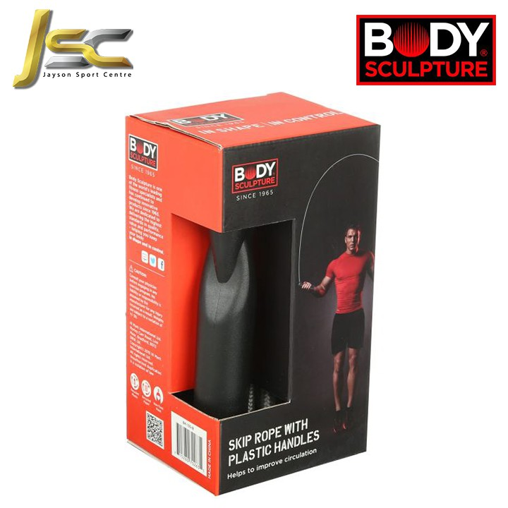 Home Fitness Skipping Rope- BODY SCULPTURE BK-135 With Plastic Handles- [ Branded/ 100% Original / Cheapest ]