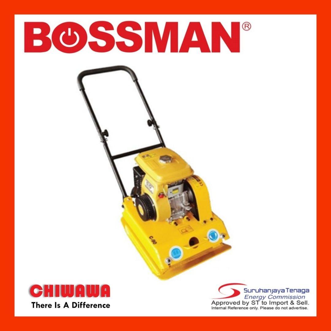 BOSSMAN Plate Compactor Gasoline 4 Stroke Engine BPC90BY vibratory roller