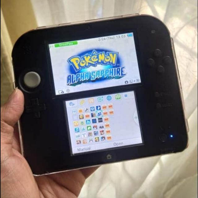 Nintendo 3DS 2DS English USA with PoKemon Games 32GB 3months Warranty Switch Mario