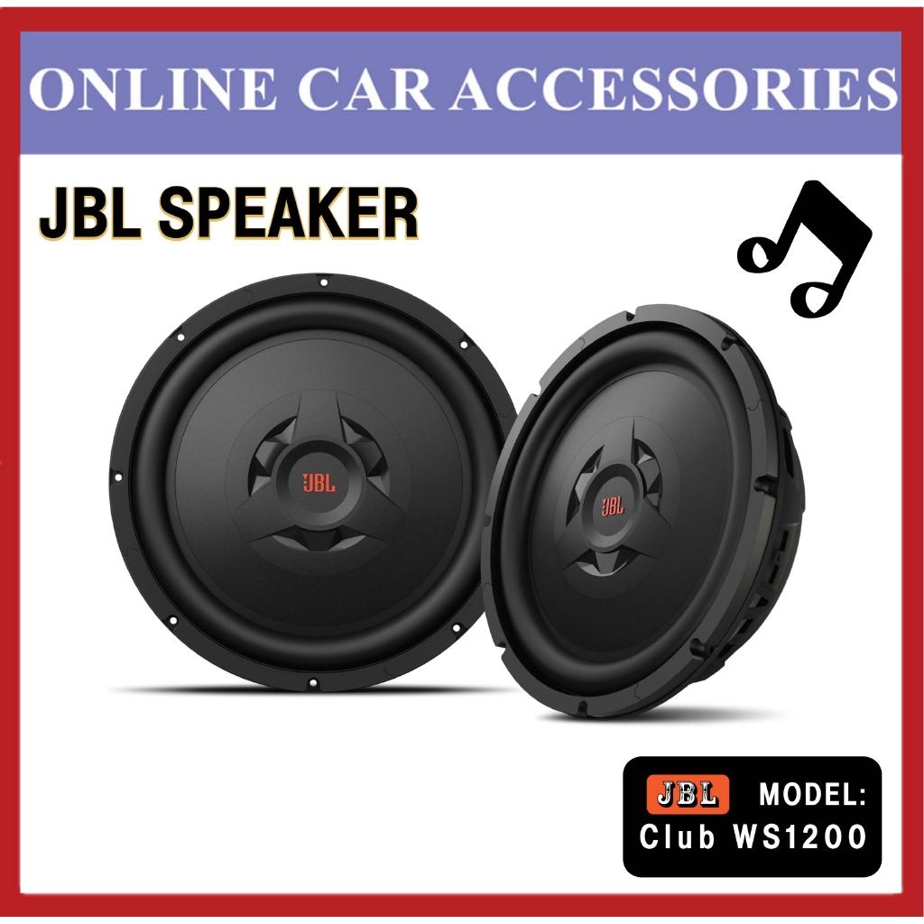 """JBL CLUB WS1200 12"""" 250 Watts Club Series Shallow Mount Car Subwoofer"""