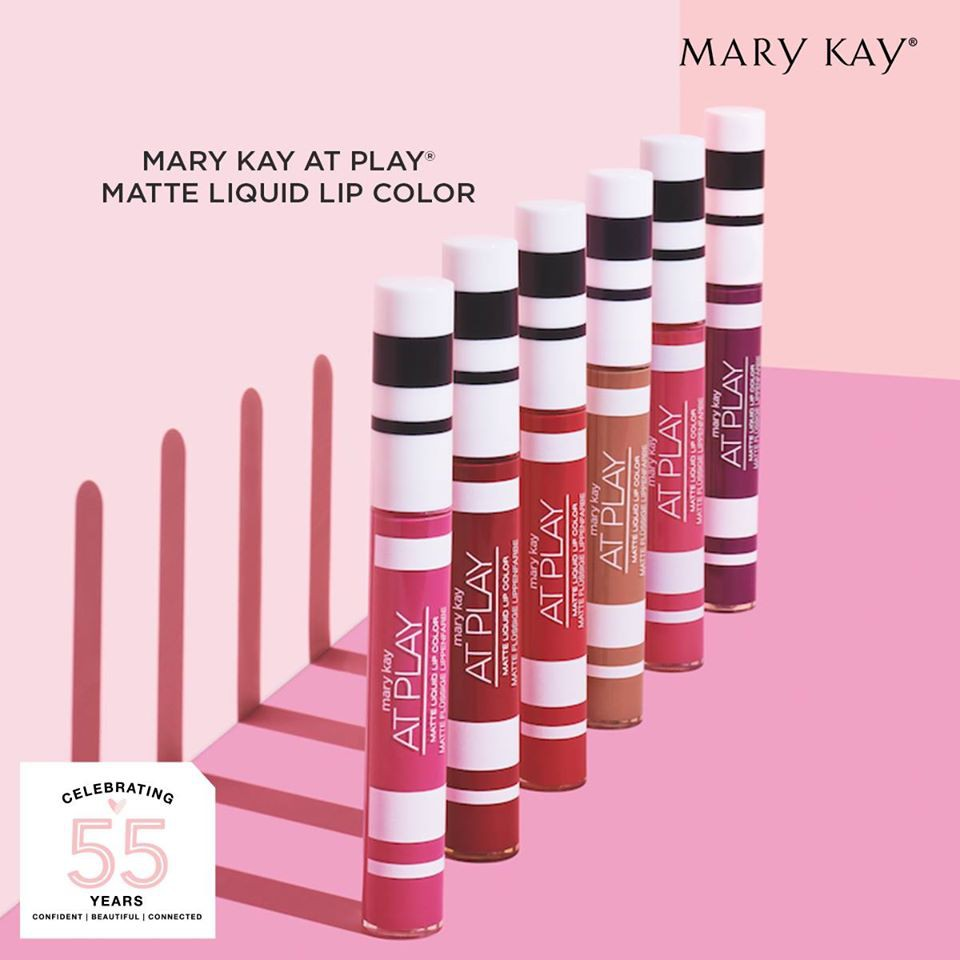 [READY STOCK] Authentic Mary Kay At Play Matte Liquid Lip Color