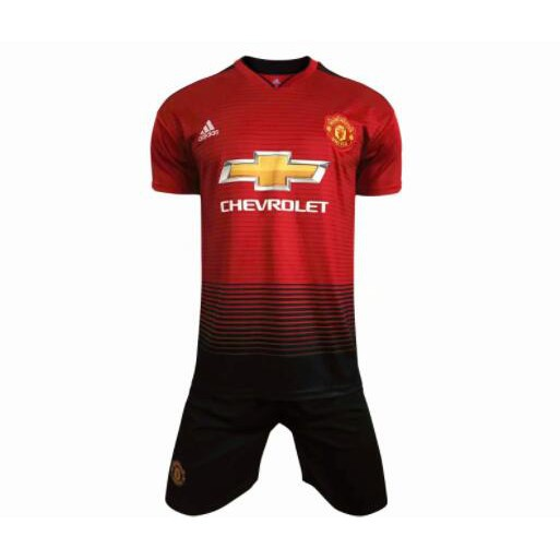 ea4472d50 2019 New Season Top Quality Manchester United Home Football Jersey ...