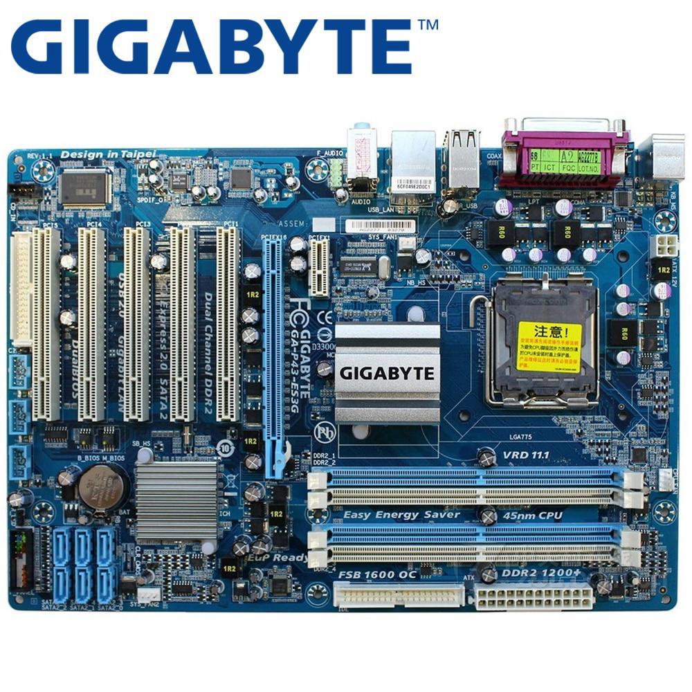 GIGABYTE GA-EP45-UD3L Desktop Motherboard P45 Socket LGA 775