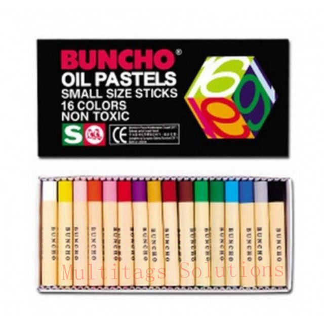 Buncho Oil Pastels 12's - 48's/Caryon/Color/Coloured