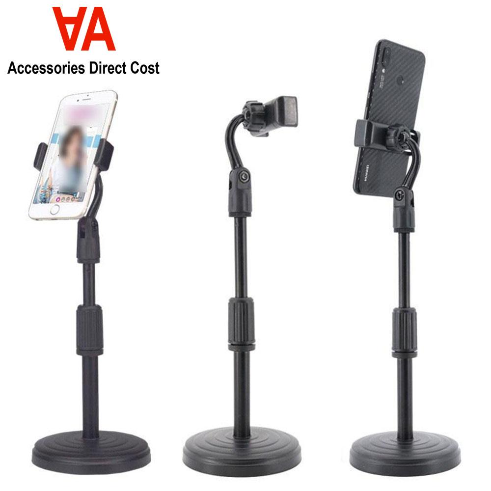 Retractable Mobile Phone For Net Class Live Broadcast Adjustable Phone Holder Desk Table Clip Bracket