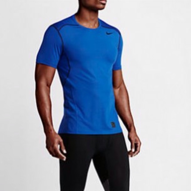 NEW Mens Nike Pro Hypercool Fitted Compression T-Shirt Top Training Running Gym