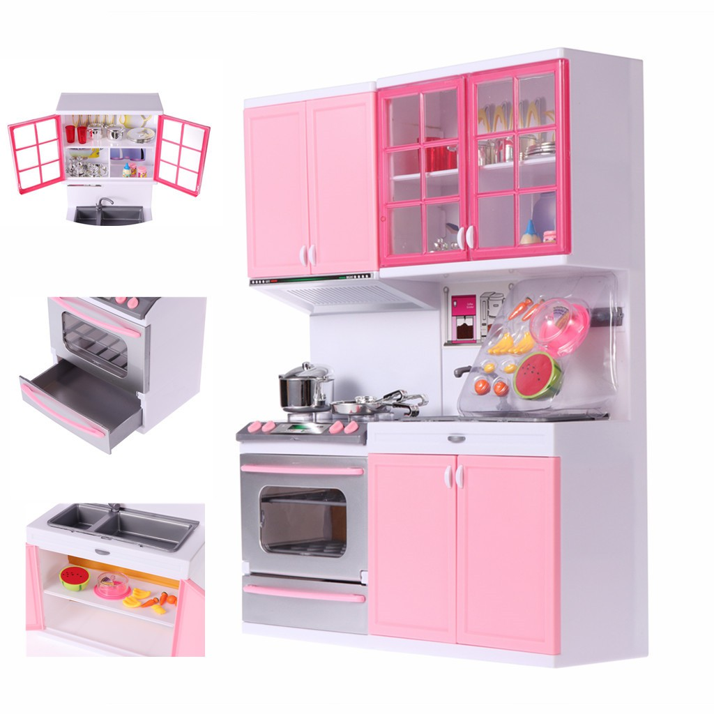 Kitchen Playset Playing House Kitchenware Tools Kitchen Set For