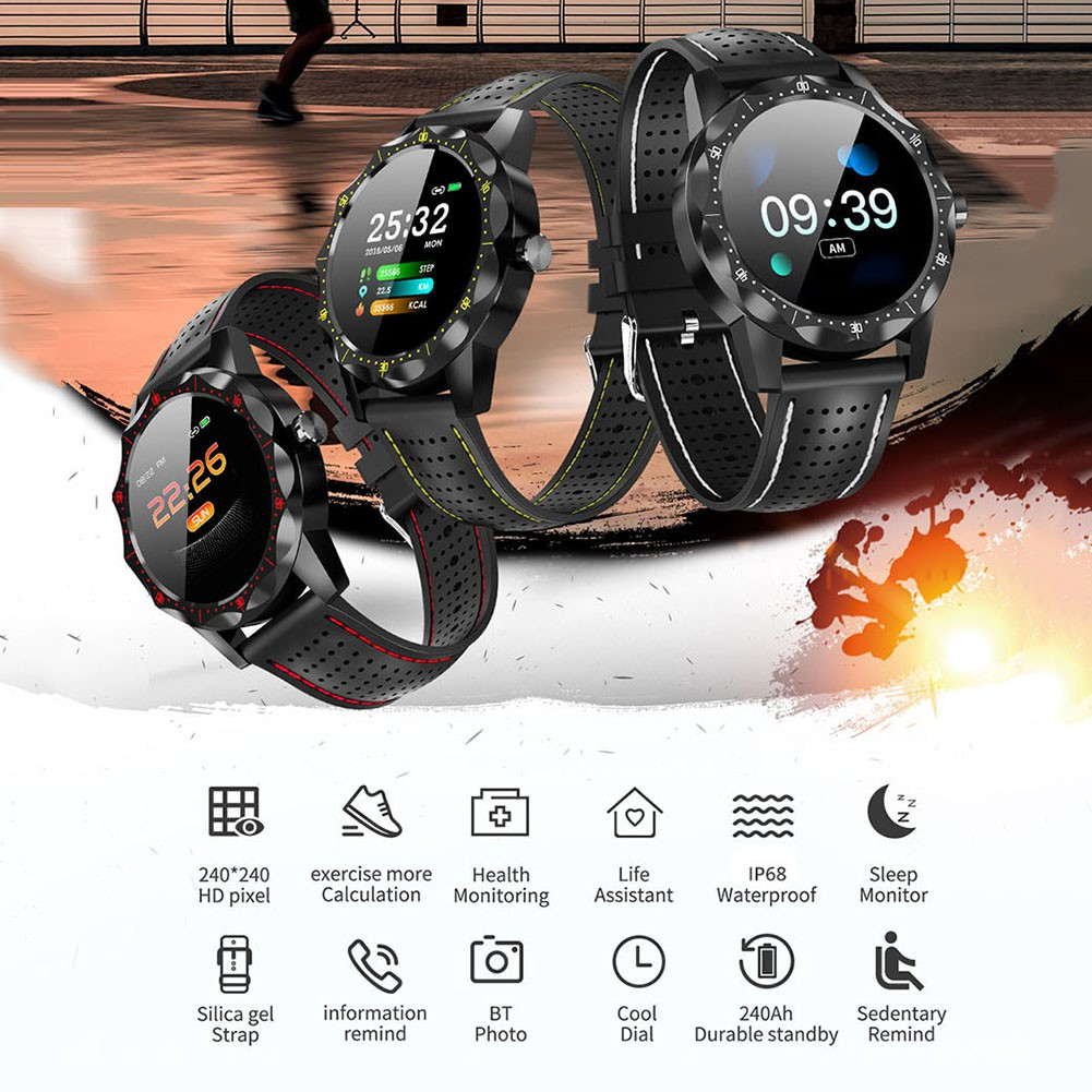 COLMI SKY 1 Smart Watch Men IP68 Waterproof Activity Fitness Tracker  Smartwatch Clock BRIM