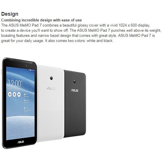 ASUS MeMO Pad 7 (ME70CX), 7 inch, Wifi Tablet [Import]