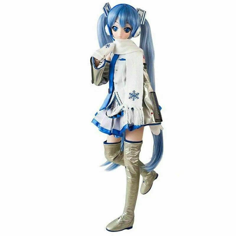 Anime Vocaloid Hatsune Miku-Dollfie Dream Snow Volks PVC Figure New No Box 58cm