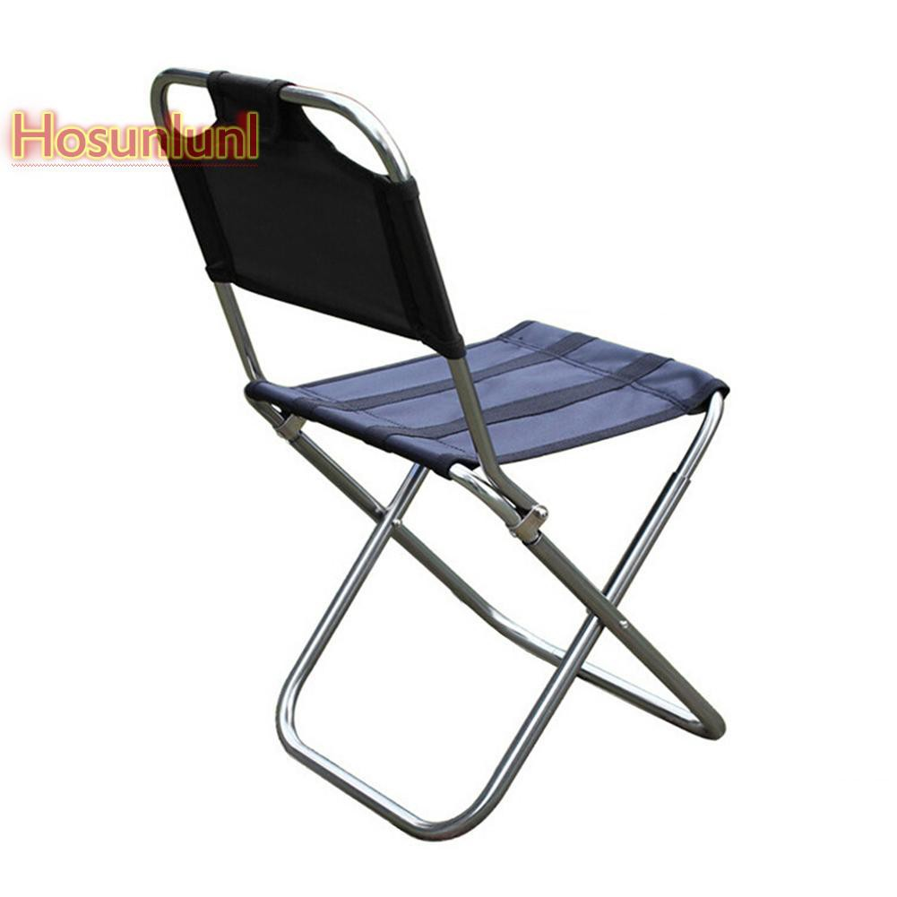 LIKEZZ Outdoor Folding Chair Aluminum Alloy Fishing Camping ...