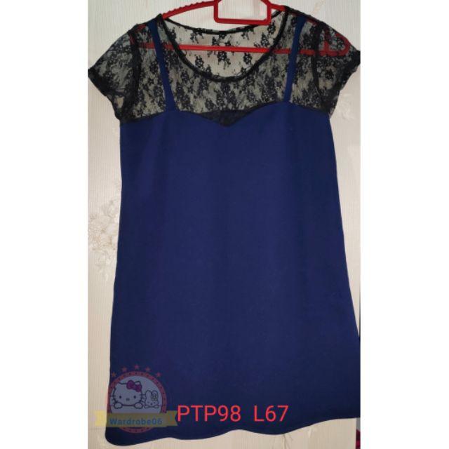 💥💯lacey top blouse 👚👚👗👍blue