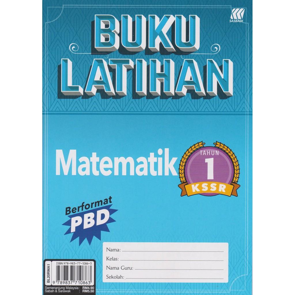 Sasbadi 2020 Buku Latihan Matematik Tahun 1 Shopee Malaysia