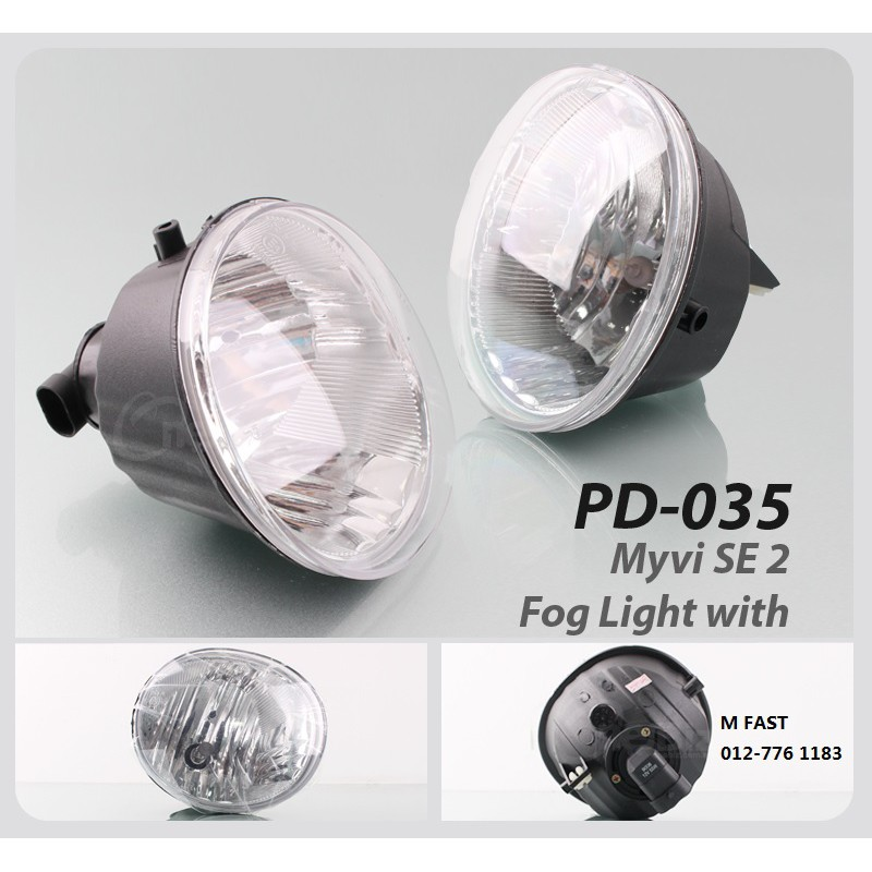 Original OEM Fog Lamp Perodua Myvi SE2 (FOG LAMP ONLY) [NO WIRING &  Switch]PD320