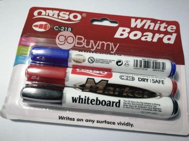 3 In 1 Whiteboard Marker Pen