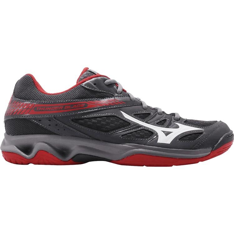 ASICS GEL BLADE 6 Red Black White Men Volleyball Badminton Shoes R703N 2393