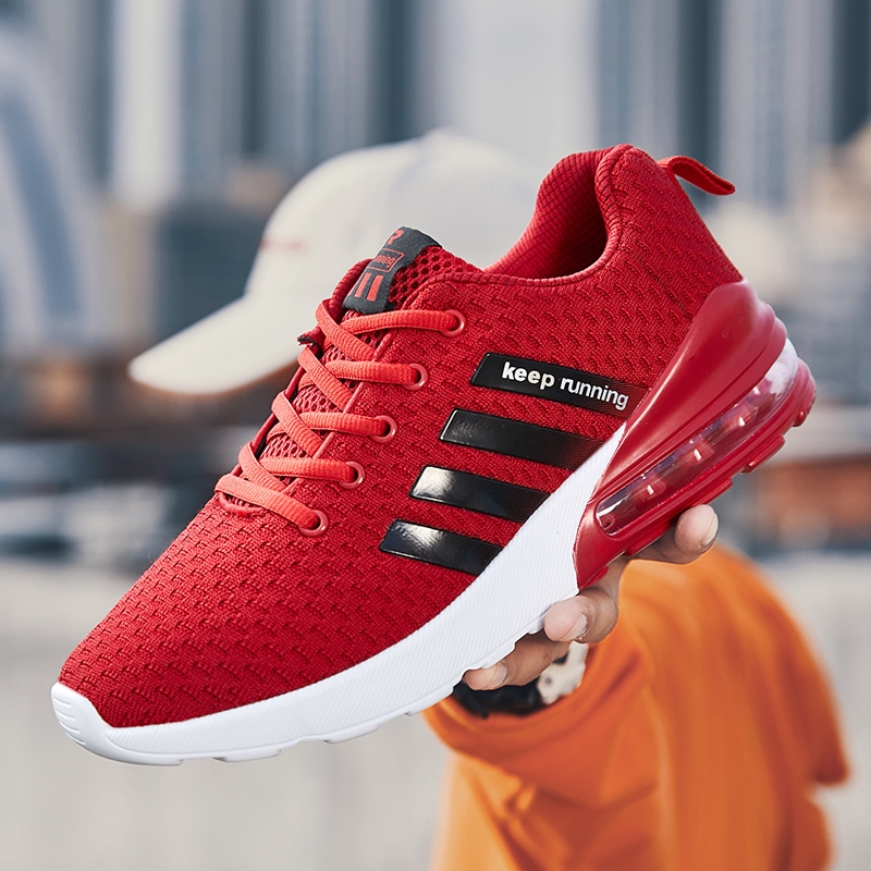 Espressione copertura letteralmente  Fashion New Adidas Fly Woven Air Cushion Bottom Knitting Shoes Men's Casual  Breathable Running Shoes Sneakers Shoes | Shopee Malaysia