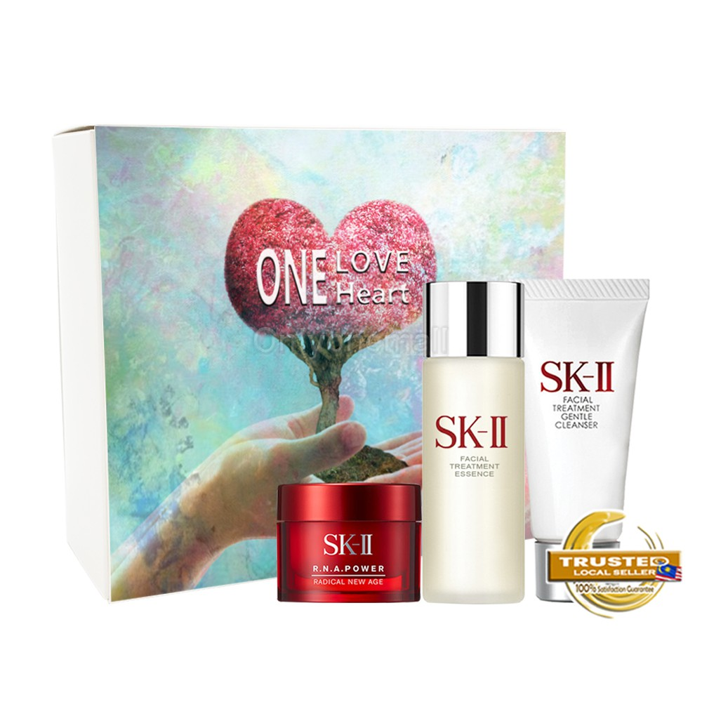 SK-II Pitera Daily Essentials Travel Set 2 (3 items with FREE Mystery Gift)