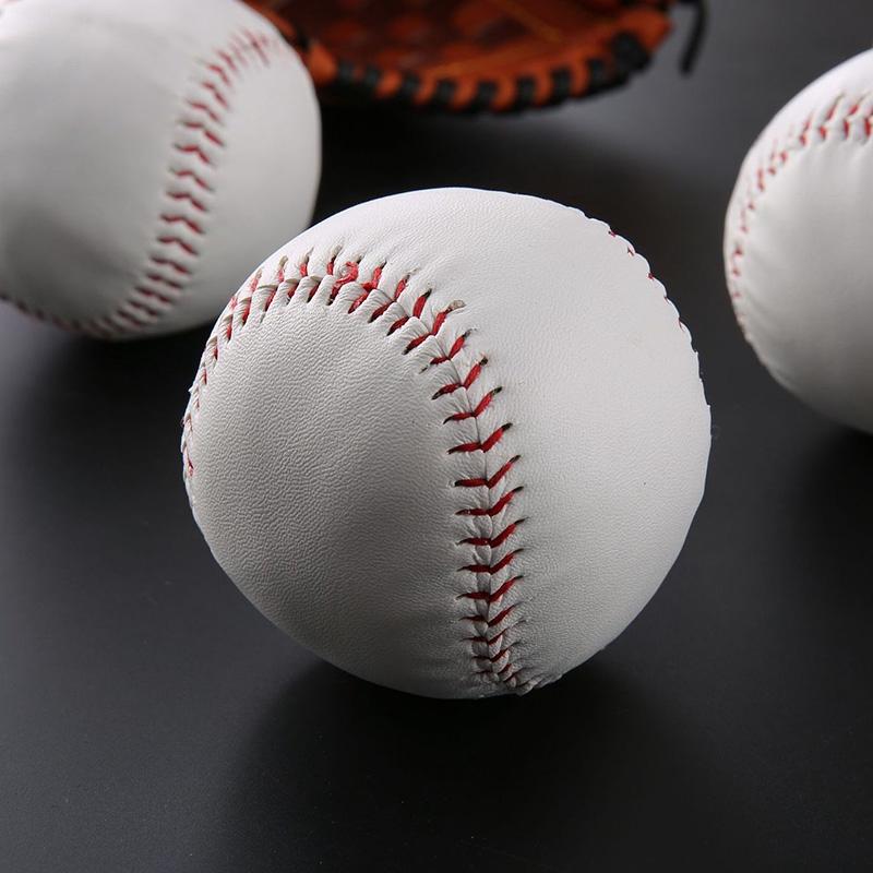 Softball Professional Player 1pc Solid Baseball 7.5cm Student Practice