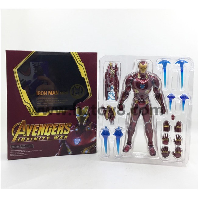 Marvel SHF Avengers 3 Infinity War Ironman Mark50 Action Figures Toys