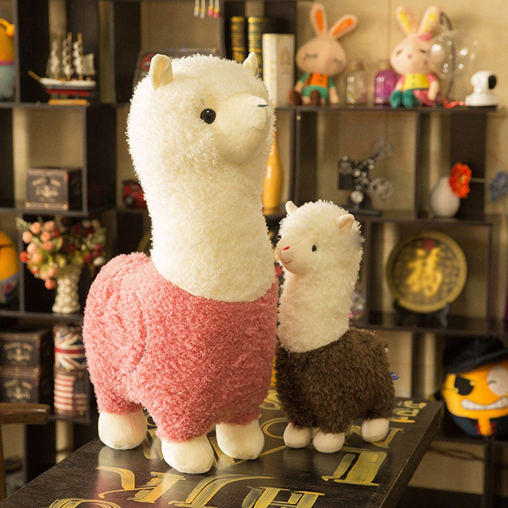 Plush Stuffed Toy Doll Animal Alpaca Llama Cotton For Kids Toys Cute New Hot