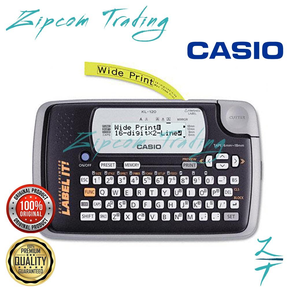 Casio EZ-Label Printer (KL-120)